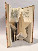 star folded book art