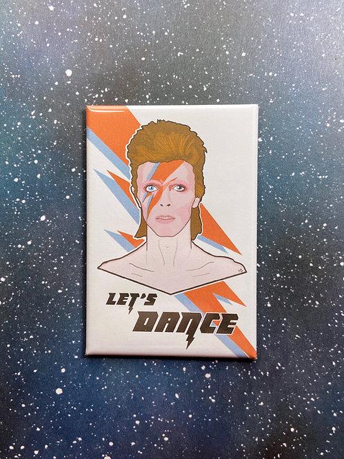 """Souvenir Magnet - """"Let's Dance"""" David Bowie"""