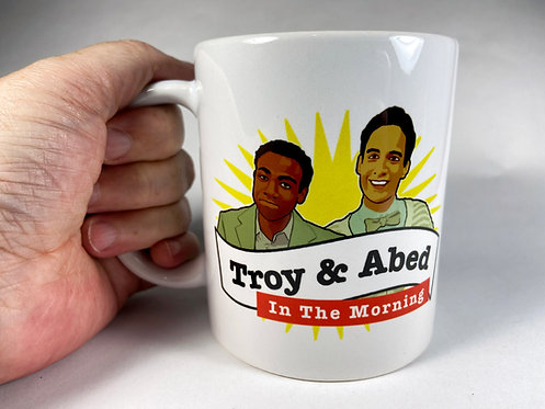 Coffee Mug - 11oz - Troy and Abed in the Morning - Community
