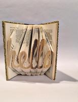 hello folded book art