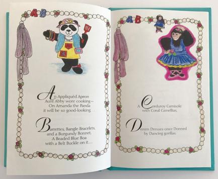 graphic design for children's book series