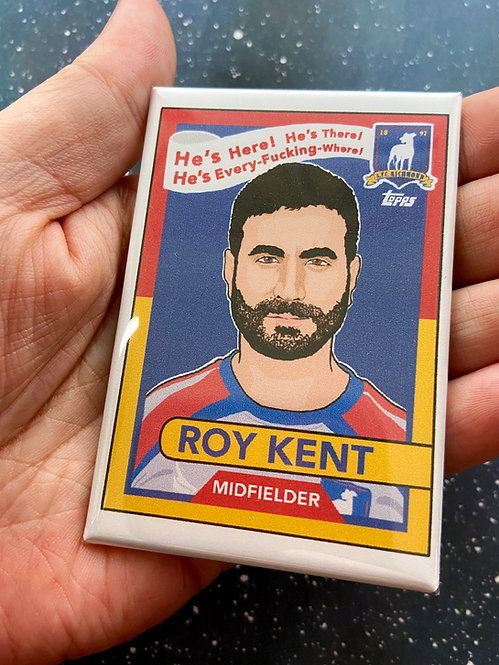 """Roy Kent"" Trading Card- Ted Lasso Souvenir Magnet"