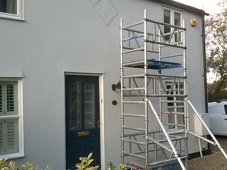Exterior house painters and decorators in Cambridge, Cambridgeshire