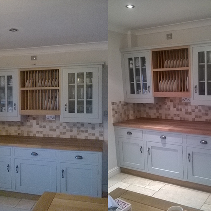 Decorated kitchin  before and after 07.p