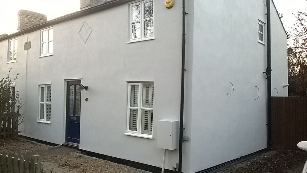 cottage renovation in Cambridge CB3