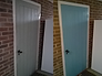 Exterior painted door in Royston SG8 by www.oaktreeltd.co