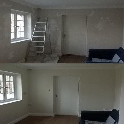 Interior painting and decorating in Cambridge CB1.