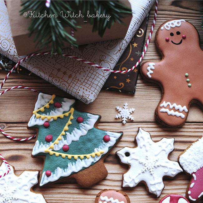 имбирное печенье подарок при покупке