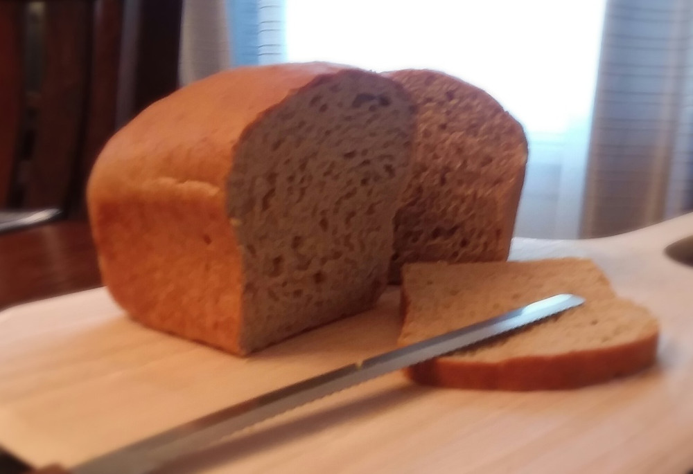 Practically Foolproof Sprouted Wheat Sandwich Bread