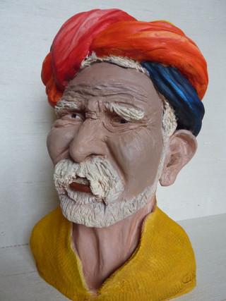 Le vieil Hindou  26X19   390€