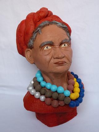 Vieille femme Guatamalteque  33X17   390€