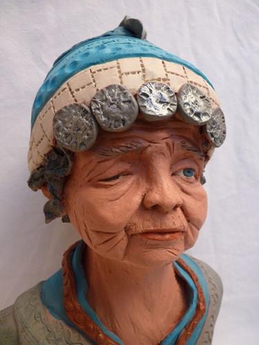 Grand mère_Thaïlandaise  31X20   390€