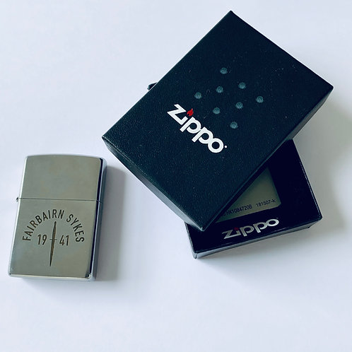 Fairbairn Sykes 1941 Zippo Lighter