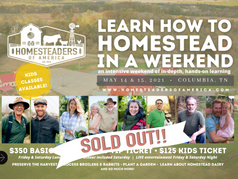 learn to homestead