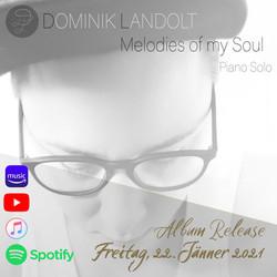 DOMINIK LANDOLT Melodies of my Soul - Vorankündigung