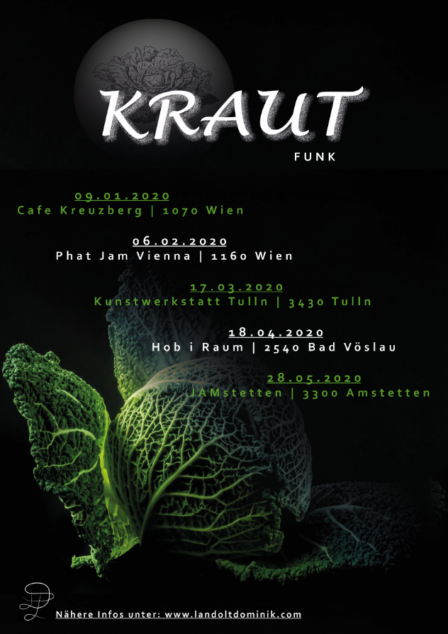 KRAUT Tour-Plakat