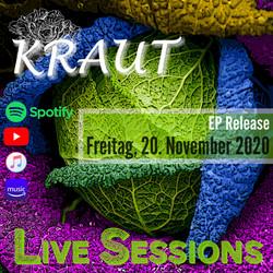 KRAUT Live Sessions - Vorankündigung