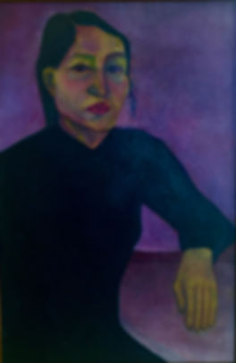 Mónica Sánchez Self Portrait 1981