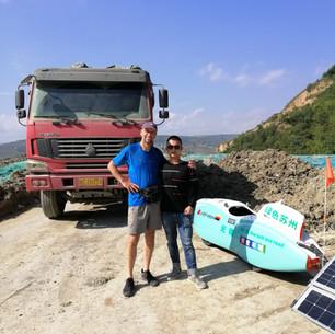Wed 9/9/2020 Tongwei - Dingxi (84km, 2160 km in total)