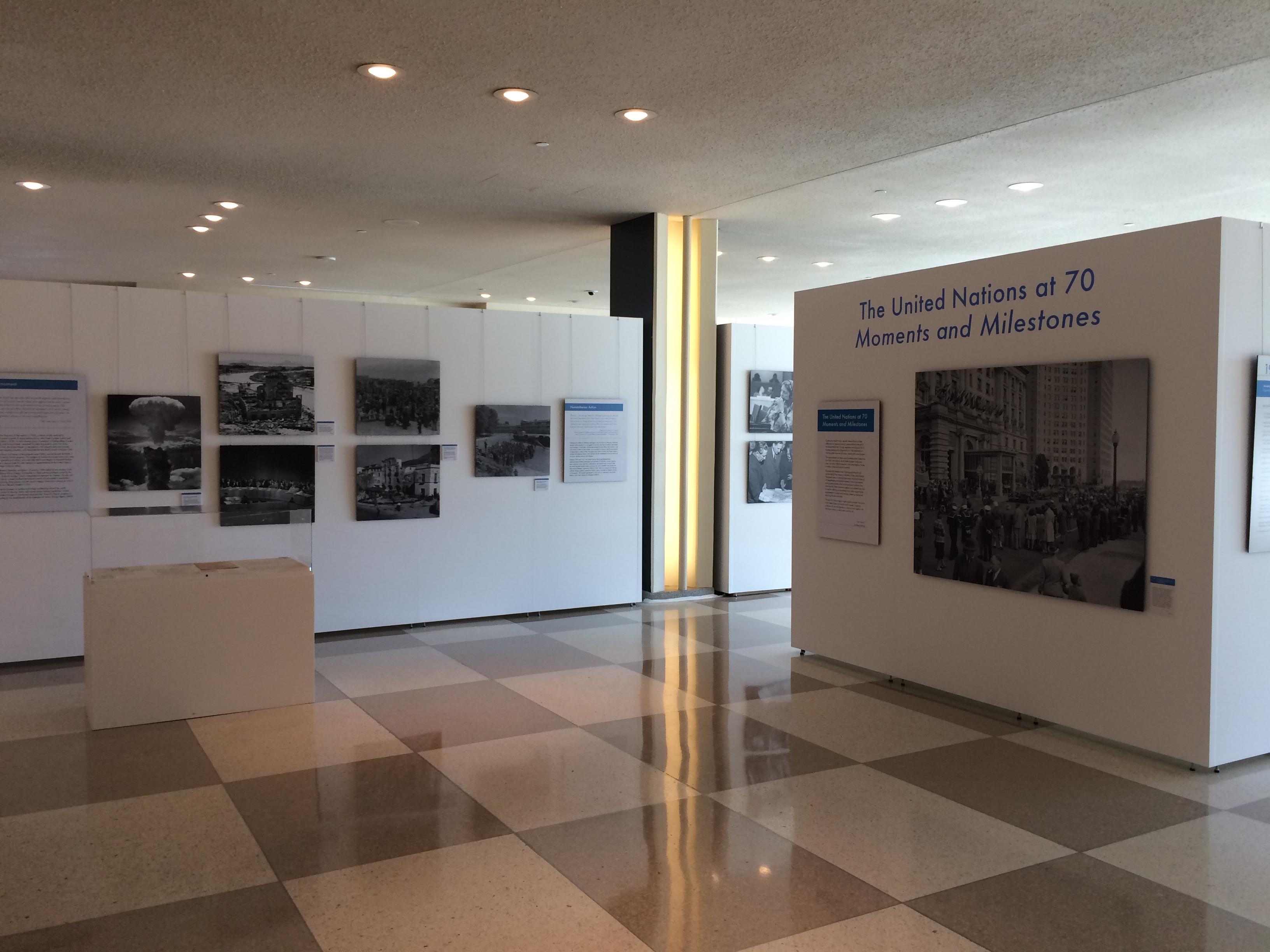 UN70 Exhibit