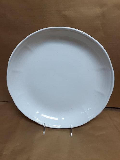 """14"""" White Piatto Riso Dish"""