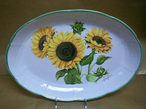 """16"""" Girasole Oval Shallow Platter"""
