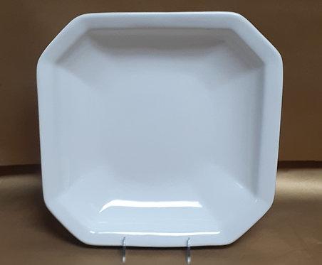 """14"""" White 0ctagonal Bowl"""