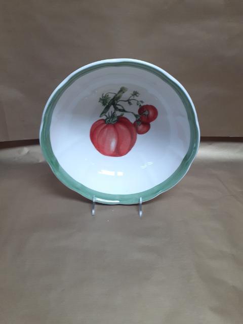 """11"""" Tomato Deep Salad Bowl"""