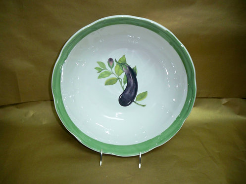 "14"" Eggplant Deep Salad Bowl"