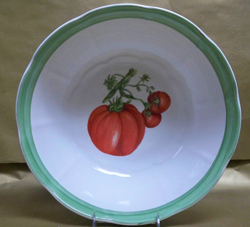 "14"" Tomato Deep Salad Bowl"