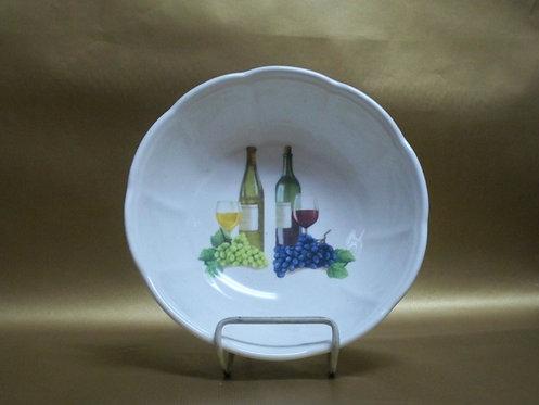 """9"""" Vini Deep Round Salad Bowl"""