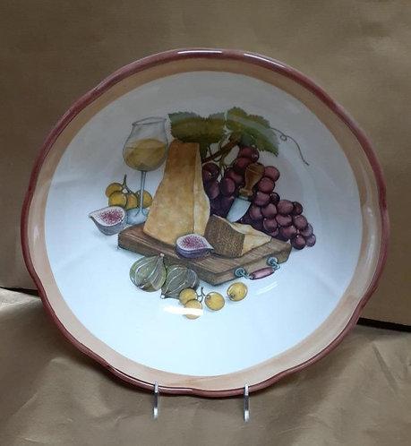 "14"" Reggiano Deep Salad Bowl"