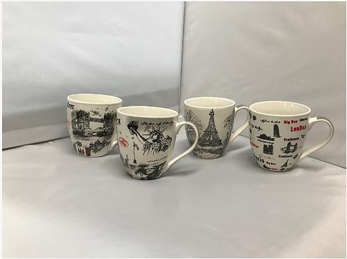 16 oz. World Mug