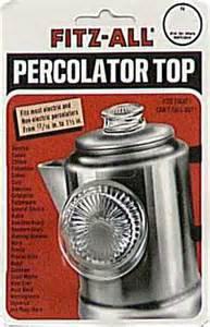 Percolator Top glass