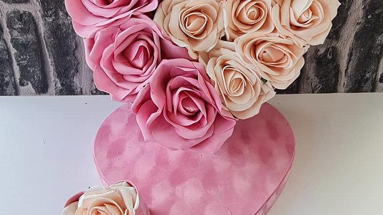 Velvet Pink Forever Rose Gift Box