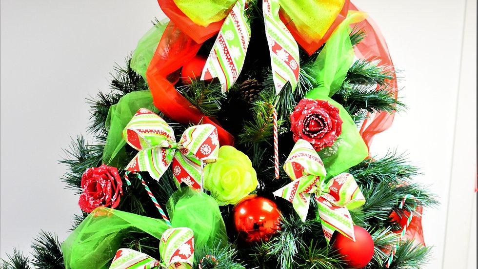 Grinch Tree Decorations| Christmas bow for tree | Christmas Tree Decor