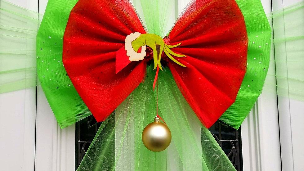 He StoleDoor bow | Christmasdoor bow| door bow