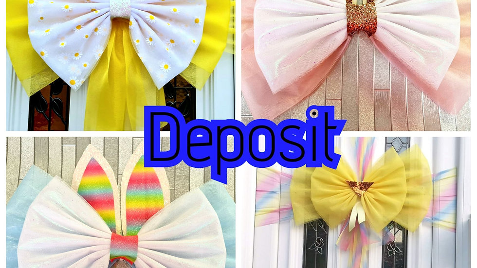 Easter Bow Deposit  ( Blackpool ) Fitting