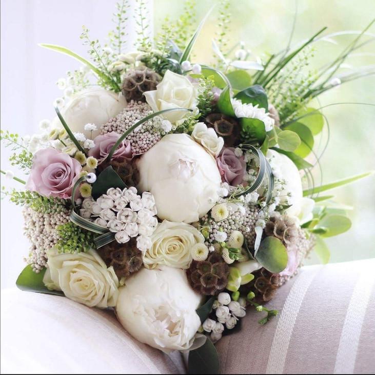 Country Garden Bridal Bouquet