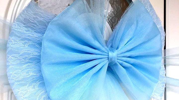Baby Blue door bow | door bow kit | door bow