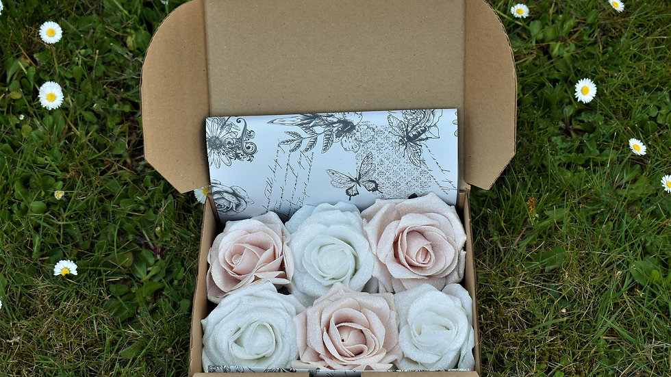 Champagne Flower decoration | Wedding decoration | Baby shower decoration