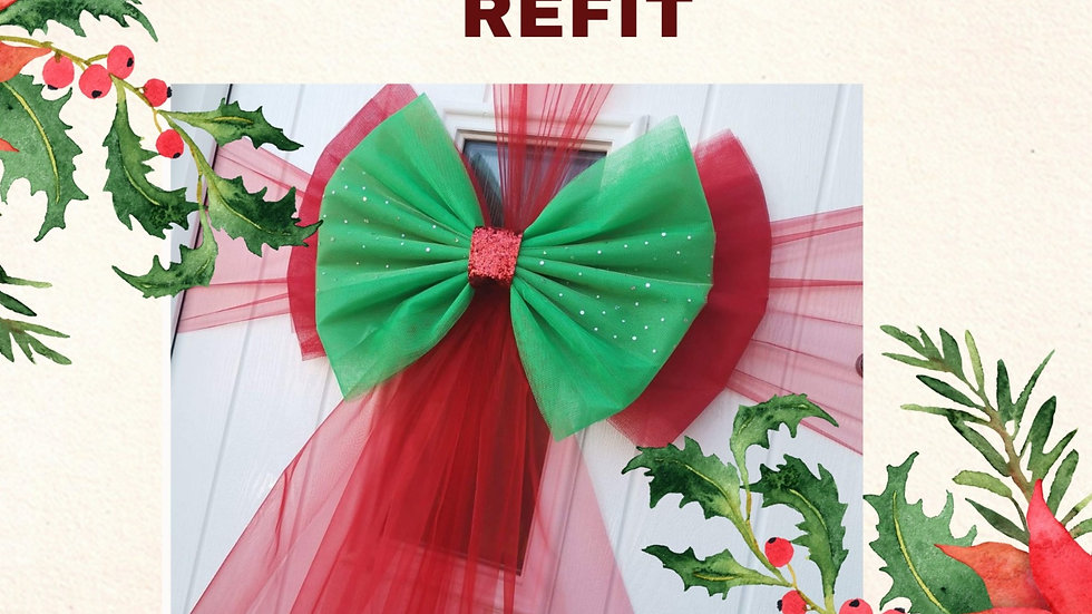 REFIT Book your Christmas Bow Fitting