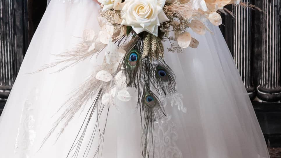 Dried Flower wedding Bouquet | Wedding Bouquet | Artisan Florist