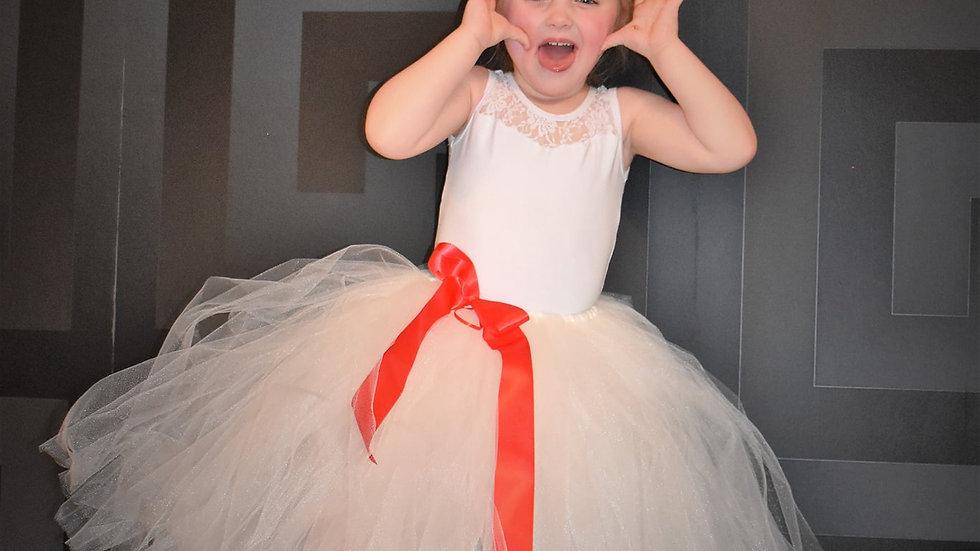 TuTu's~  Flowergirl TuTu ...Wedding TuTu Skirt