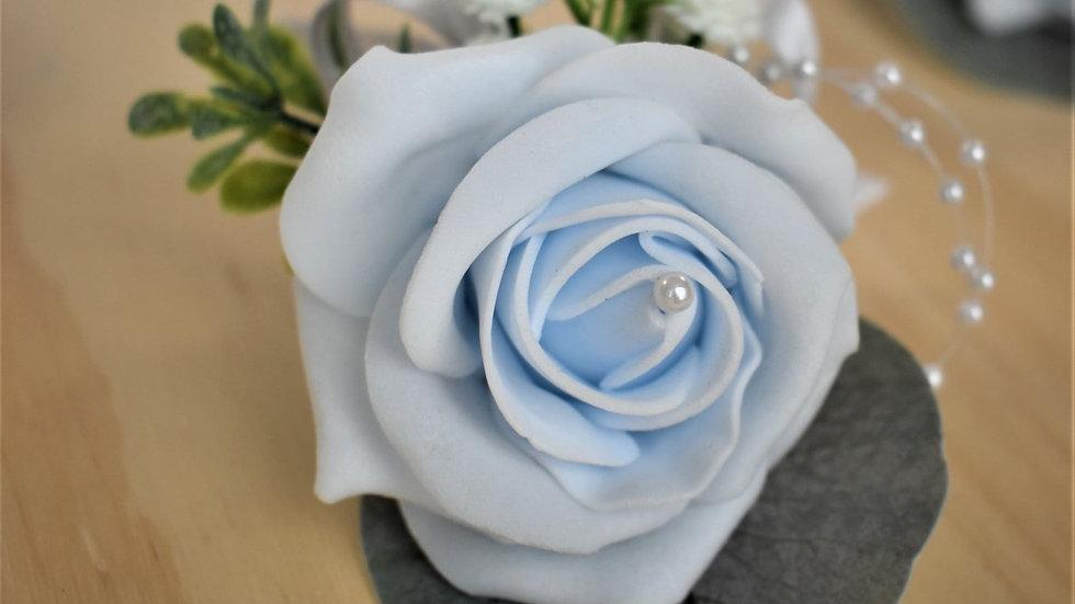 Flower Buttonhole   fake flowers for a wedding   Wedding Flowers