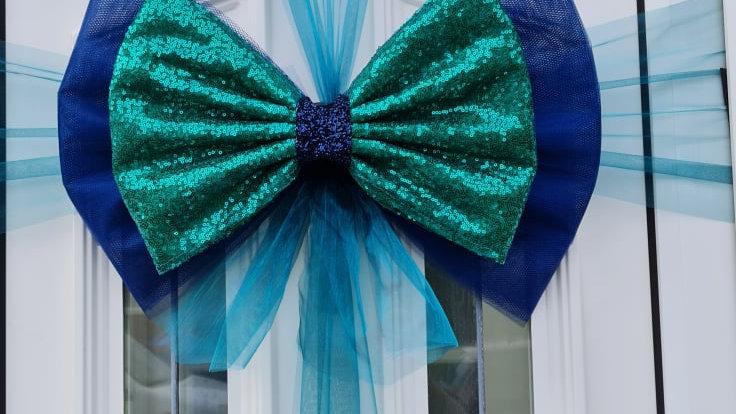 Christmas Door bow  door bow xmas   door bow