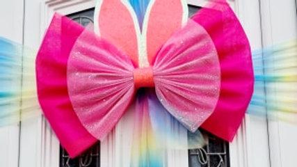 Bunny Door bow | bow on door | door bows