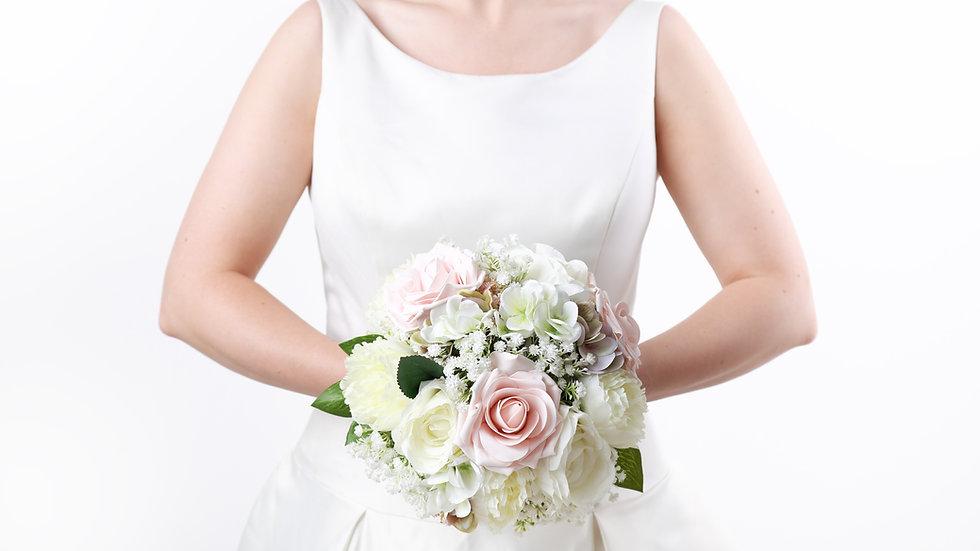 Nude Pink Wedding Flowers   Fake Bouquet of flowers   Wedding Flowers