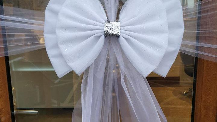 White Door bow | door bow kit | door bow