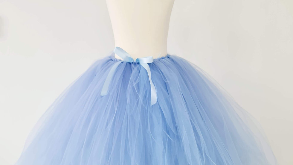 Pale Blue   TuTu's~  Flowergirl TuTu ...Wedding TuTu Skirt